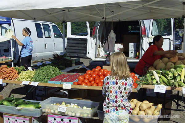 Wausau Farmers Market buy local food wisconsin relylocal