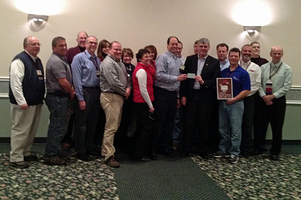 Wausau Founders BNI networking honor flight donation