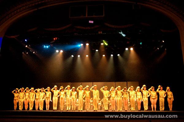Wausau Community Theatre A Chorus Line