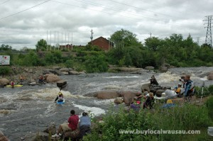 Wausau whitewater park riverfest weekend