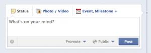 Facebook posting tool