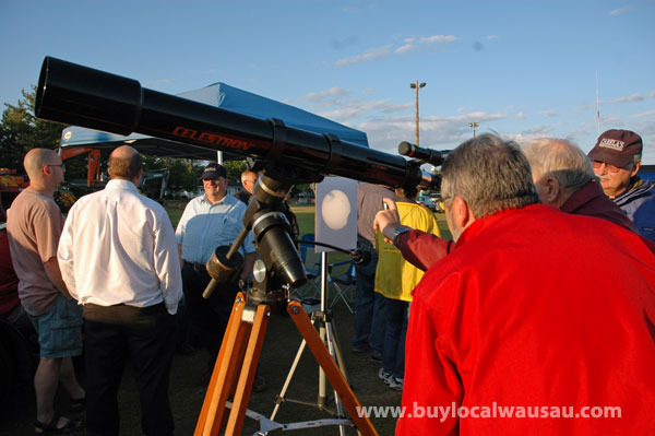 venus transit viewing party wausau