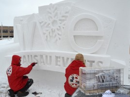 Team-USA-winterfest-snow-sculpture-clay-model