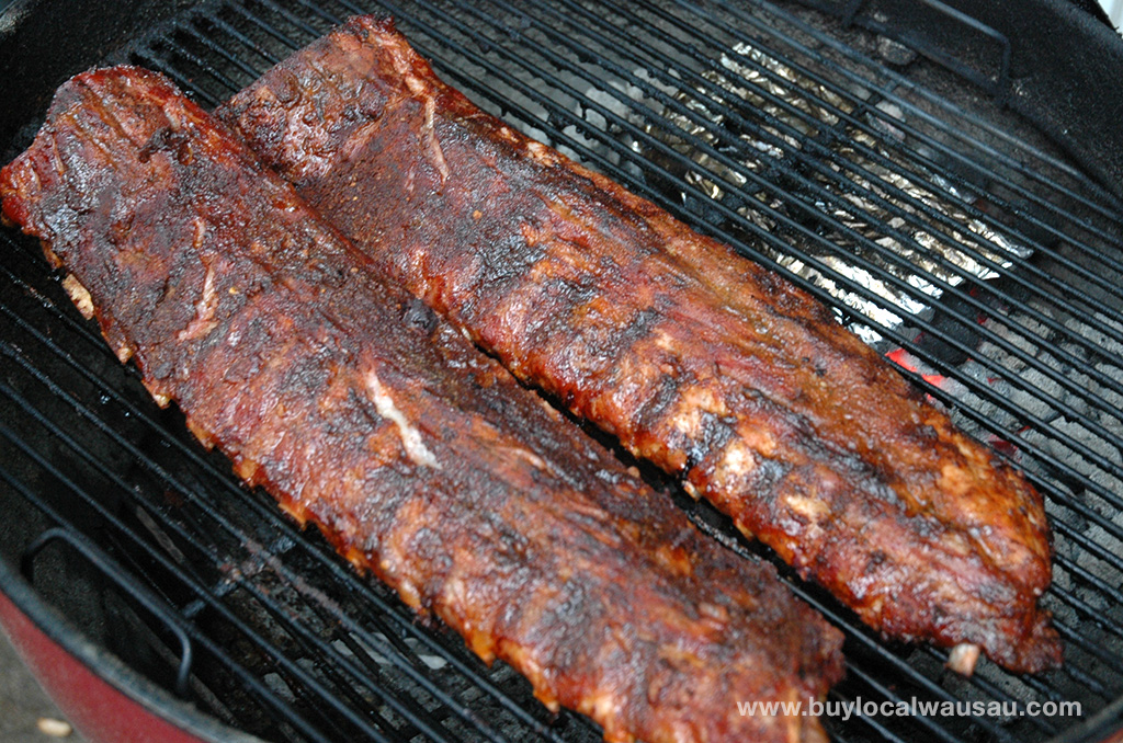 Memphis-Style Pork Ribs Recipe — Dishmaps