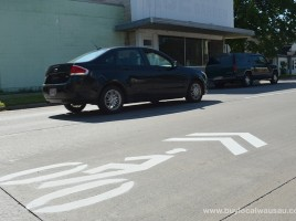 Sharrow-Stencil-Wausau-3rd-Ave