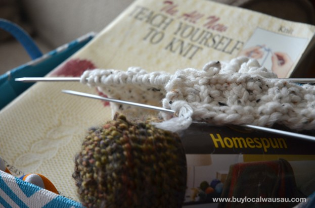 Teach-yourself-to-knit