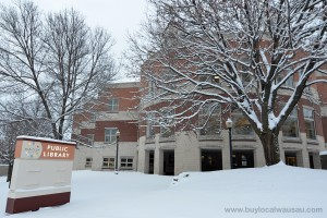 Marathon-County-Public-Library-exterior-winter