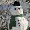 Snowman-green-scarf
